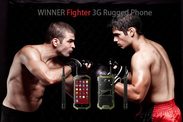 WINNER Fighter 3G Rugged Phone