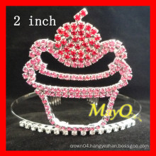 Sweet Cake pageant rhinestone tiara crown for kids