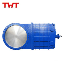 Stradand bi-directional resilient seated oil knife gate valve
