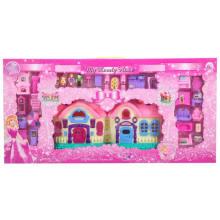 Beauty Castle Spielen Sie Spielzeug mit Licht und Musik