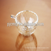 unique crystal bowl for home decoration dinnerware glass bowl