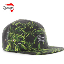 Adjustable 5 Panel Supreme Camp Snapback Hats