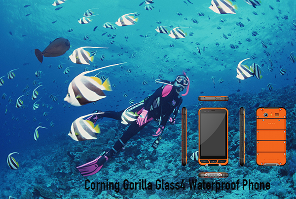 Corning Gorilla Glass4 Waterproof Phone