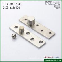 Bisagra de pivote de la puerta de acero inoxidable 304 A341 100 * 25