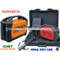 single phase IGBT DC portable mini inverter arc welding machine