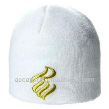 Chapéu de beanie bordado promocional personalizado acrílico a quente