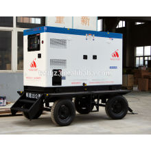 75KW Cummins Diesel Generator Set Mobile Silent Trailer Type with CE certificate