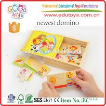 Nagelneue Kindergarten-Kinderspielzeug-zusammenpassendes Tier-hölzernes Puzzlespiel-Spiel