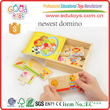 Brand New Kindergarten Kids Toy Matching Animal Wooden Puzzle Game
