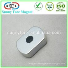 customized shape piercing magnet