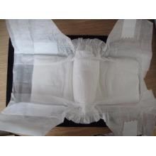 Tissu non tissé SMS Spunbond pour la perméabilité à l'air doux jetable Couche-couche pour bébé
