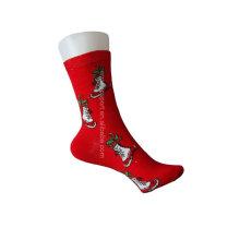 women's cotton chrismas sock