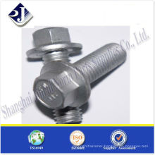 DIN 6921 ZINC PLATED HEX FLANGE HEAD BOLT