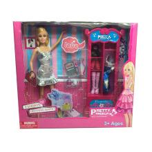 "Fashiontoy 11.5 ""muñeca con juego de vestuario Set 2 Assted (H8726053)"