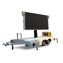 High Definition LED Advertising Trailer Mobile LED Screen
