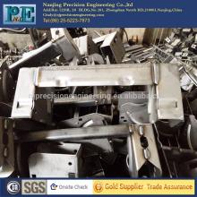 ISO9001 maßgeschneiderte Stahl Stanzen Biegen Schweißen fabraications, CNC-Bearbeitung Fabrikationen