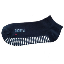 Men Women Anti-Slip Cotton Plain Sports Socks for Trampoline (asc-02)