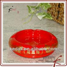 Cenicero de cerámica de marca oem con logo