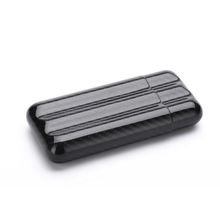 Portable Luxury Carbon Fiber Cigar Case