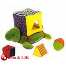 ICTI Audited Fábrica de educación de juguete de peluche de bebé