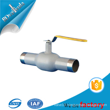 BD VALVULA dn25 welding ball valve for oil industry pipe supply