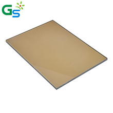 Factory Price Pc Solid Sheets Panel 7Mm Bronze Polycarbonate Sheet For Skylight Roofing