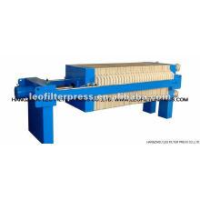 Presse-filtre hydraulique à chambre de petite taille