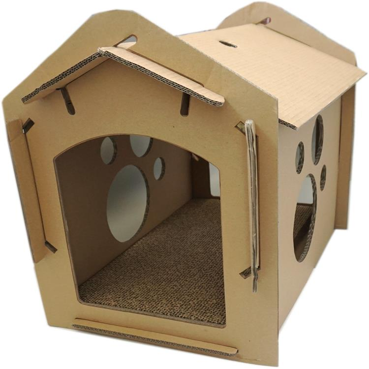 Custom Corrugated Plastic Pet House
