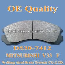 D530 brake pad for Mitsubishi V33 F