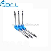 Outils de coupe BFL Forets étagés carbure AlTiN-Coating à queue droite