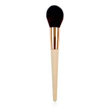 Escova de pó com alça de bambu