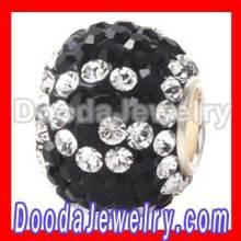 Paved Swarovski Crystal Beads G Alphabet Letter Jewelry Charms Bulk
