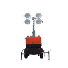 Portable Mobile Led Solar Lighting Tower High Mast Machine for Outdoor Construction Work