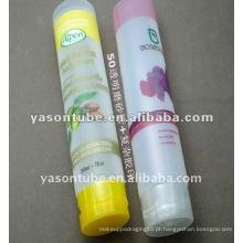 Tubo extrudido quente para cosméticos de Yason