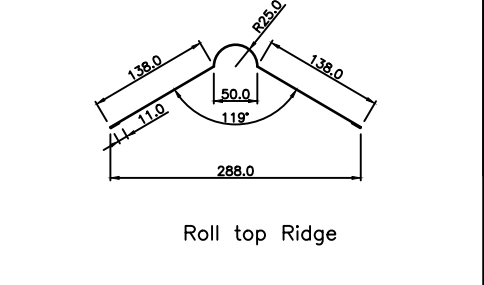 ridge profile