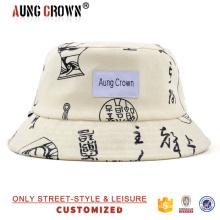 De moda de alta calidad de encargo cubo sombrero / tapa