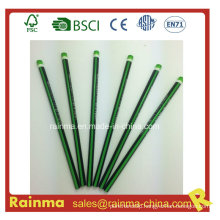 Triangle Neon Color Barrel Hb Wooden Pencil Green