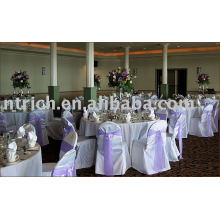 100%Polyester chair cover,banquet/hotel chair cover,organza sash