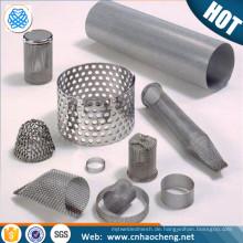Nickel / Monel / Inconel Maschendraht Filterrohr für die Kunststoffindustrie