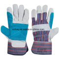 Short Welding Gloves, Safety Working Gloves, 10.5′′patched Palm Leather Gloves, Reinforced Palm Leather Working Gloves, Driver Gloves Supplier