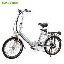 CE EN15194 2017 Venta Caliente Pequeña bicicleta eléctrica plegable plegable e bicicleta 20 pulgadas