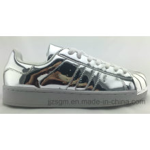 Fashion Mirror Surface Skate Shoes