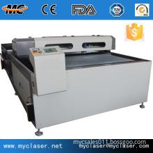 MC1530 ball screw CO2 tube metal and no metal laser cutting machine