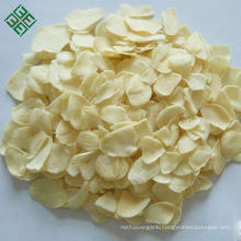 Organic new crop air dried white dehydrated garlic flakes factory