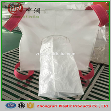1.5 ton PP Jumbo Bag Packing For Sand Fertilizer Chemicals Rice Cement , 1000kg Big Bulk Bag