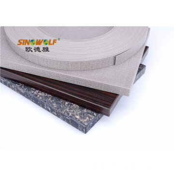 Cross Line Woven Design PVC ABS Edge Banding