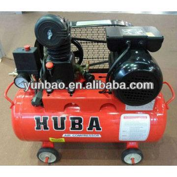 HUBA pistón mini correa accionada precio compresor de aire Z-0.036 / 8 1HP motor eléctrico