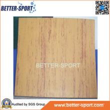 Estera de espuma de EVA que se enclavija en color de madera del grano, madera EVA del color de la estera del rompecabezas