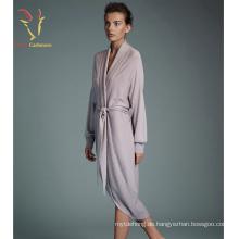Dame Fashion Kaschmir Gestrickte Robe Großhandel Frauen Robe