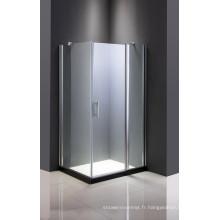 Cabine de douche en verre simple bon marché
